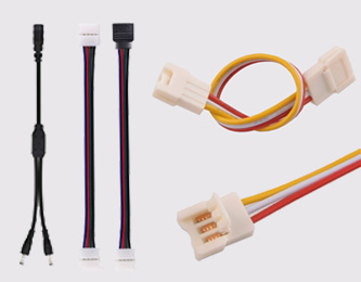 LED Strip Solderless Connectors
