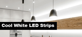 cool white LED strip lights
