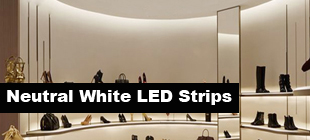 neutral white LED strip lights