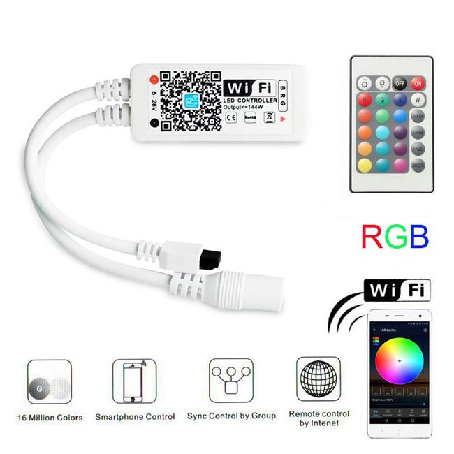 Led Light Strip Mini Wifi Controller Magic Home Rgb Led Controller