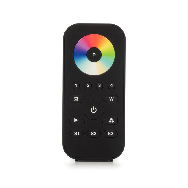 Programmable RGBW Remote Controller Pro for LED Strip Lights, 4 Zone