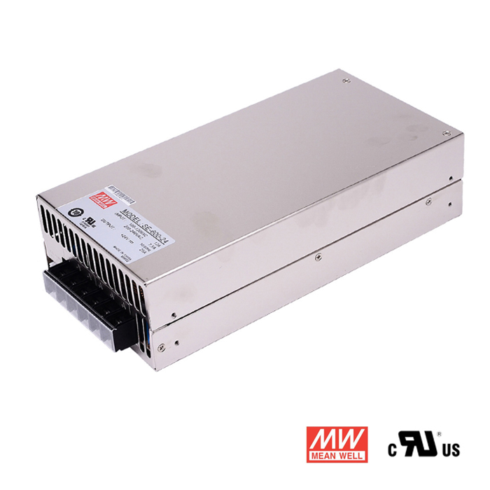 24V 25A 600W DC Power Supply, Mean Well SE-600-24