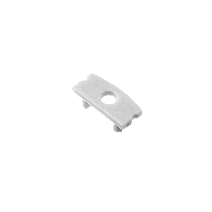 End Cap with Hole for LED Aluminum Channel 1707