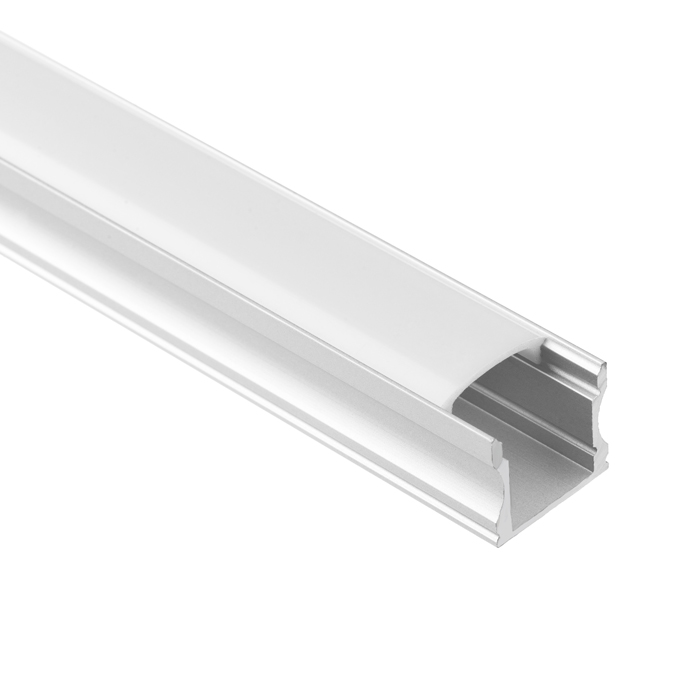 LED Strip Light Channel, Aluminum Extrusion Profile, U Shape 2 M (6.56 FT), 1517