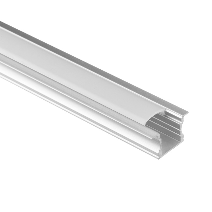 LED Strip Light Channel, Aluminum Extrusion Profile, U Shape 2 M (6.56 FT), 1525
