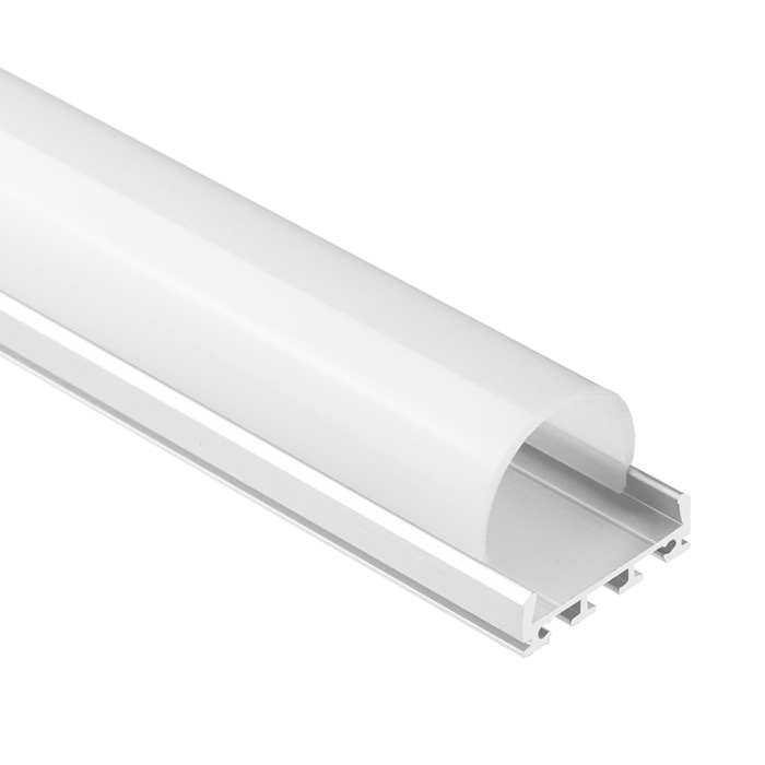 LED Strip Light Channel, Aluminum Extrusion Profile U Shape 2 M (6.56 FT), 2326R