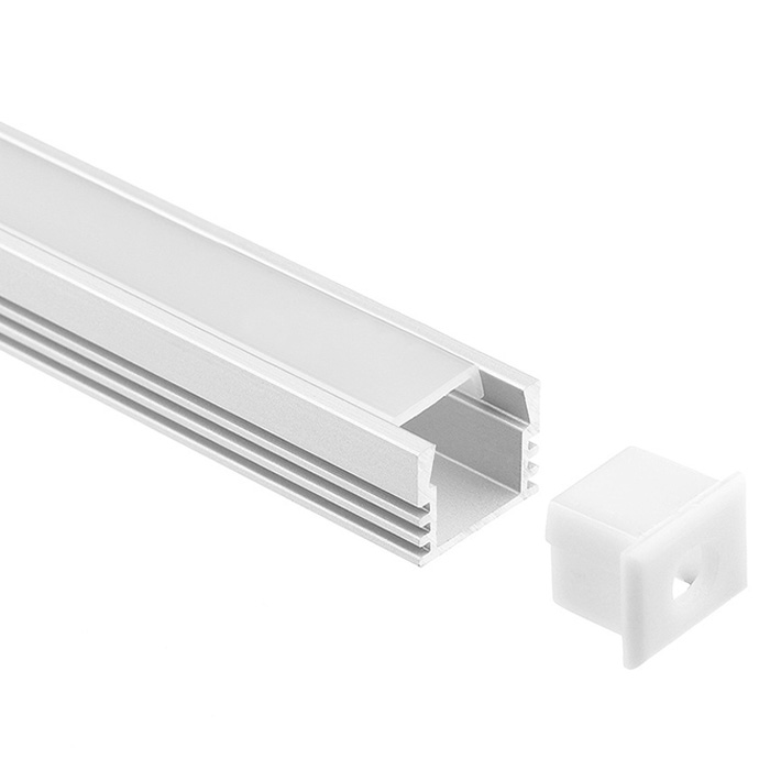 LED Strip Light Channel, Aluminum Extrusion Profile, U Shape 1.17M (3.83FT), 1512