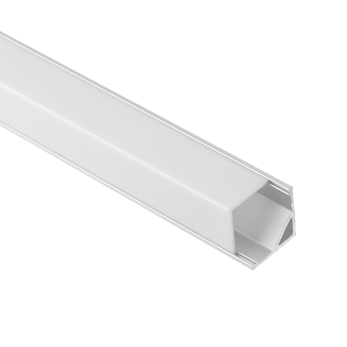 LED Strip Light Channel, Aluminum Extrusion Profile V Shape 1.17M (3.83FT), 1616S