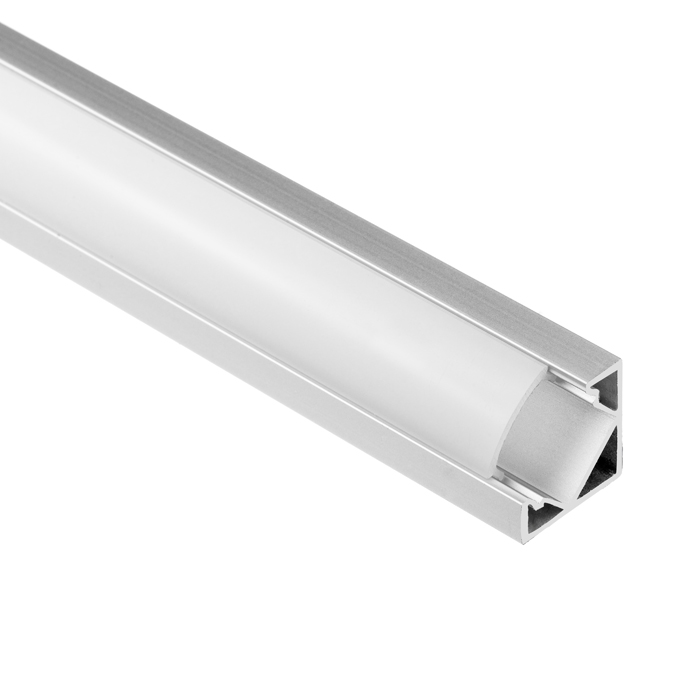 LED Strip Light Channel, Aluminum Extrusion Profile, V Shape 1.17M (3.83FT), 1818