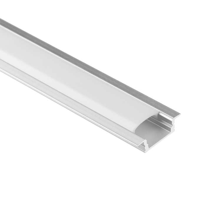 LED Strip Light Channel, Aluminum Extrusion Profile, U Shape 1.17M (3.83FT), 0725
