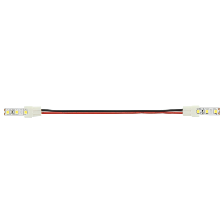 2 Pin 10mm LED Strip to Strip Jumper or Solderless Corner Connector