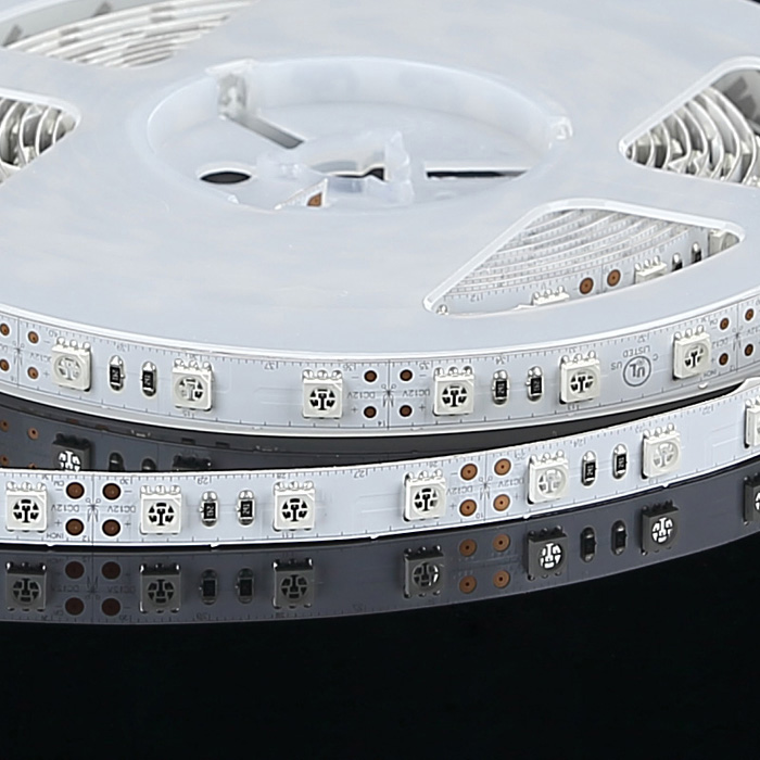 5050 12V Blue LED Strip Light, 60/m, 5m Reel