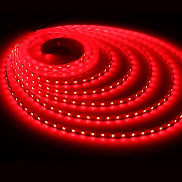 12v 5050 Red Led Strip Lights 650nm