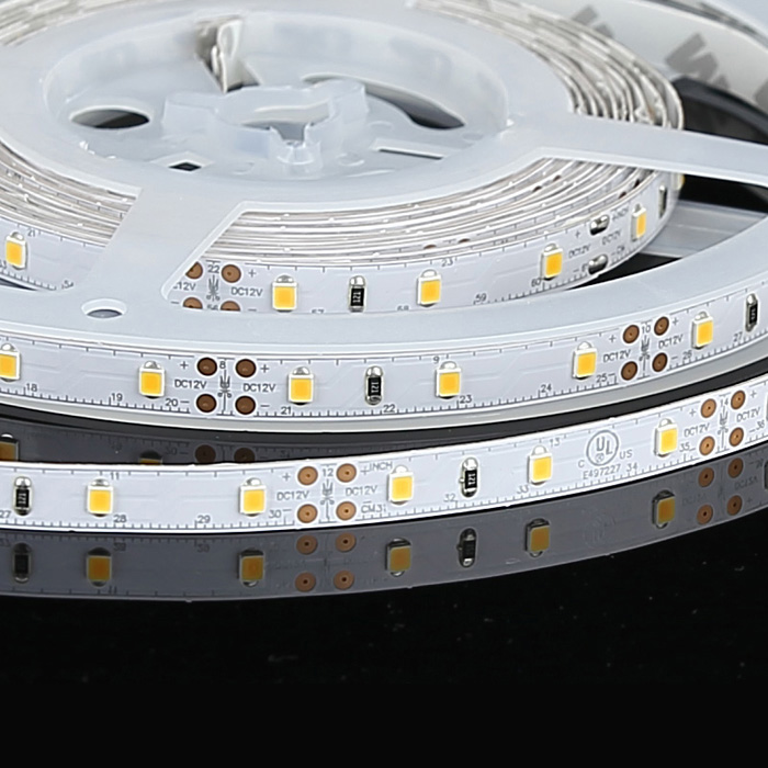 2835 12V LED Strip Light, Warm White 3000K, 60/m, 5m Reel