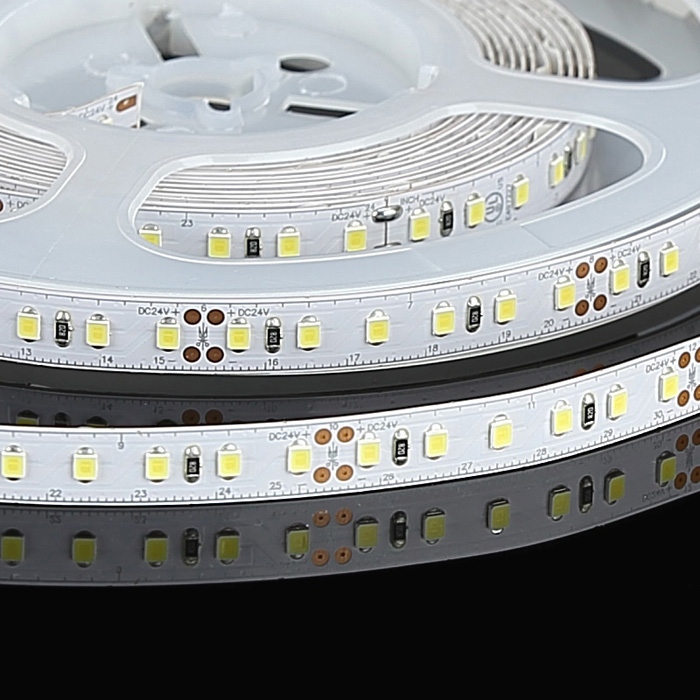 2835 24V LED Strip Light, Cool White 6500K, 120/m, 5m Reel