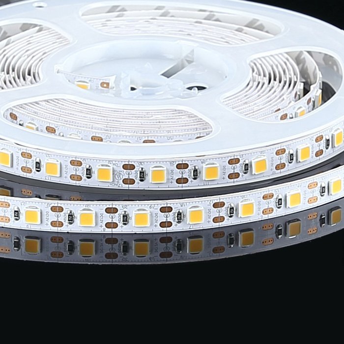High CRI 95+ 5050 12V LED Strip Light, Warm White 2700K, 60/m, 5m Reel