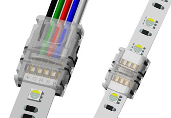 5 pin RGBW LED strip light connector
